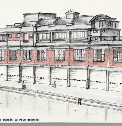 Projet Quai de Valmy par Marc Reidiboym